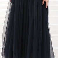 autumn  fashion faldas korean style 8 m big swing maxi skirts womens winter jupe high waist tutu adult long tulle skirt