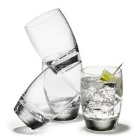 Luigi Bormioli Michelangelo 12-Ounce Double Old-Fashioned Glasses (Set Of 4)