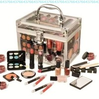 SHANY Carry All Trunk Professional Makeup Kit - Eyeshadow,Pedicure,manicure - Gift Set:Amazon:Beauty