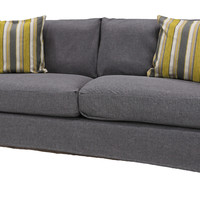 Bombay™ Newburgh Grey Sofa Slipcover (SLIPCOVER ONLY)