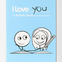 Urban Outfitters - I Love You Activity Book By LoveBook & Robyn Durst