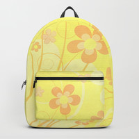 Summer floral Backpack by edrawings38