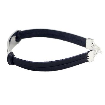 Motivation genuine Leather bracelet