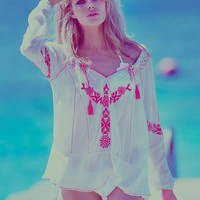 Free People Fondly St. Tropez Tunic