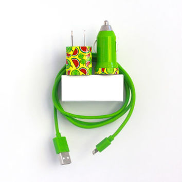 Watermelon Fever iPhone Charger