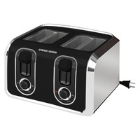 Black & Decker Four-Slice Retractable Cord Toaster