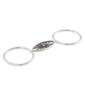 Vanessa Mooney The Existence Double Ring in Silver