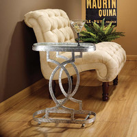 Art Deco Petite Caddie Side Table