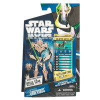 Star Wars The Clone Wars - General Grievous Action Figure CW-10