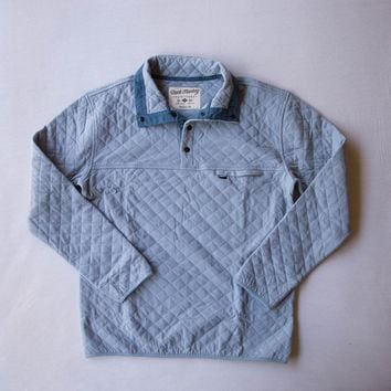 Rock Monkey Outfitters Quilted Pullover Ice