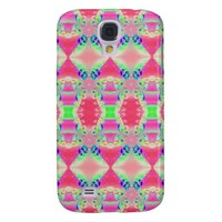 Colorful Rosey Pink Abstract Pattern