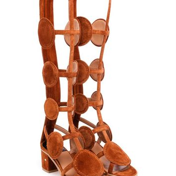 Velvet Halix Gladiator Sandals - LAURENCE DACADE
