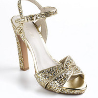 HotList Glitter Platform Sandals | Lord and Taylor