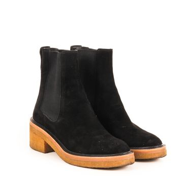 Dries Van Noten Creeper Sole Chelsea Boots