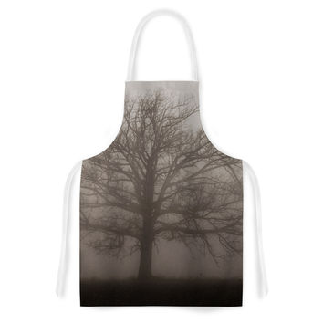 "Angie Turner ""Lonely Tree"" Dark Fog Artistic Apron"