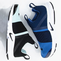 NIKE contrast Trending Fashion Casual Sports Shoes sapphire blue toe -white soles