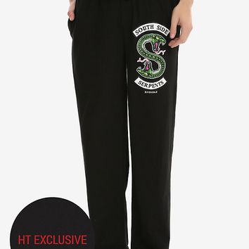 Riverdale Southside Serpents Guys Pajama Pants Hot Topic Exclusive