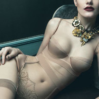 Exclusive Lingerie and Beachwear|Thong body |CAZAR
