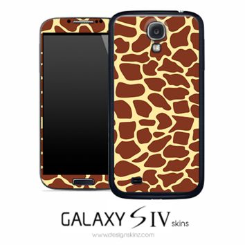 Digital Giraffe Skin for the Galaxy S4