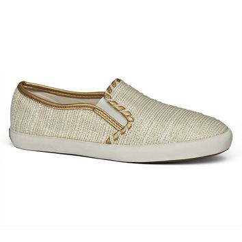 Baldwin Sneaker in Ecru by Jack Rogers