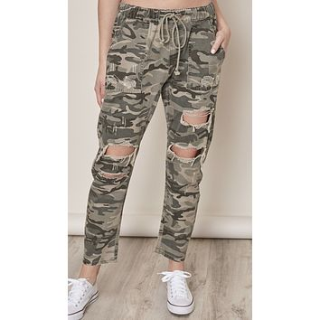 Come Find Me Camo Pant
