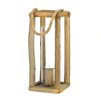 Sylvan Tall Candle Holder Lantern