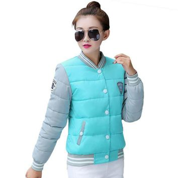 Women New winter cotton jacket