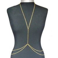 Gold Body Belly Waist Chain