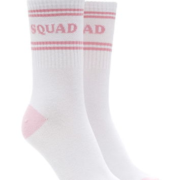 Squad Graphic Crew Socks