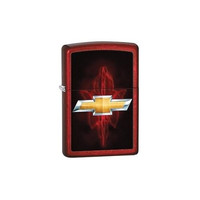 Chevy- Candy Apple Red Zippo Lighter