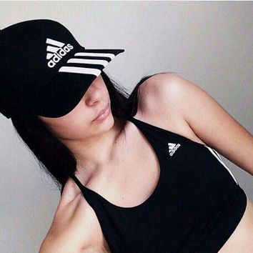 Adidas Three Stripe Baseball Outdoor Baseball Golf Sports Cap Hats