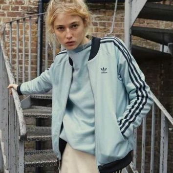 ESBON Adidas Originals Three Stripe Bomber Jacket
