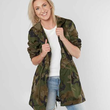 Ashley Camo Hooded Jacket - Women's Coats/Jackets in DK Green Camo | Buckle
