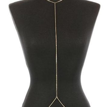 Body Chain Layered Back Chain