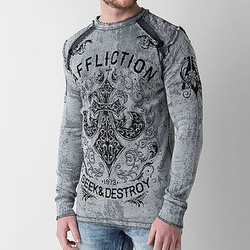 Affliction Signify Reversible Thermal Shirt