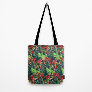Tropics Paradise Tote Bag by Ben Geiger