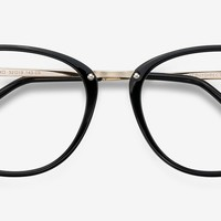 Cosmo | Black Metal Eyeglasses | EyeBuyDirect