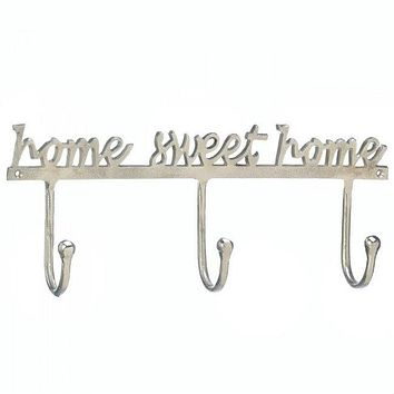 Home Sweet Home Aluminum Wall Hook