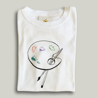 Art Palette Long Sleeve Tee
