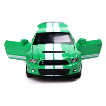 Ford Mustang Diecast Alloy Metal Racing Vehicles Model Christmas Birthday Gift for Children Boy Collection Toy