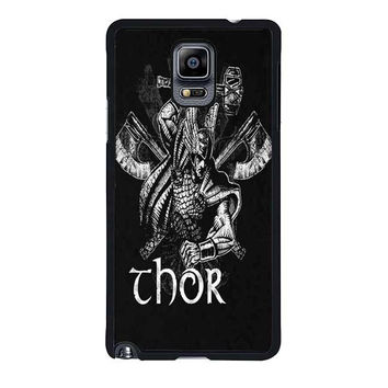thor from asgard samsung galaxy note 4 note 3 cover cases