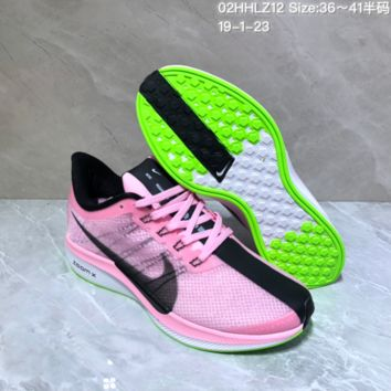 KUYOU N982 Nike Air Pegasus 35 CNY Turbo Flyknit Running Shoes Pink ba4e497e03