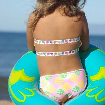 ALANA: Baby Bikini SET Create Your Own One Little Mermaid Child's Swimsuit
