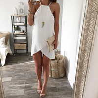2017 Aakar shan New Fashion Womens Sexy Summer Dress Ladies Chiffon Bodycon Party  Dress