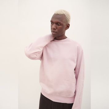 Our Legacy Patch Sweatshirt in Washed Pink