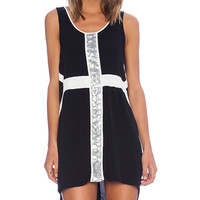 MINKPINK Lunar Lights Dress in Black
