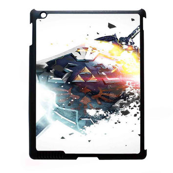 Zelda Shield Sword Triforce FOR IPAD 2/3/4 CASE *07*