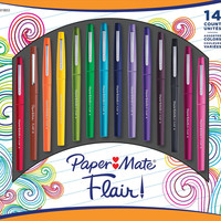 Papermate Flair Colored Magic Marker Set of 14