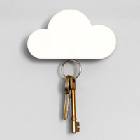 Magnetic Key Holder Shaped Like a Cloud