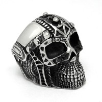 Shiny Gift Jewelry New Arrival Fashion Style Titanium Punk Stylish A4 Size Ring [6544847491]
